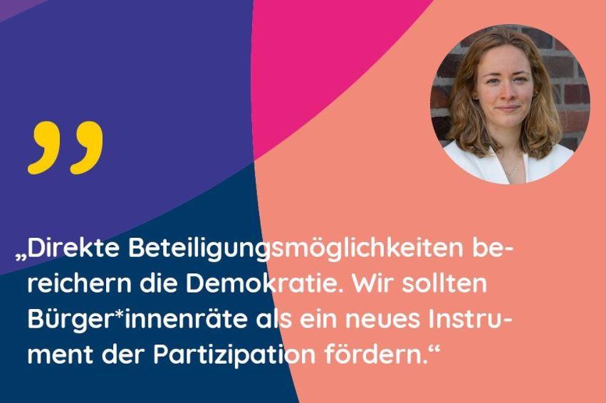 """Meine Teilnahme am Podium """"mittendrin – mit Bürgerräten!"""""""